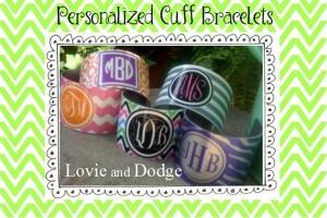 Monogram Bracelets $22 LadybuggsShoppe