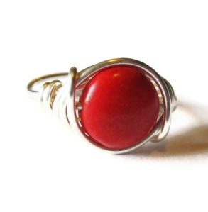 Gemstone Ring $12 DistortedEarth