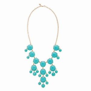 The original Bubble Necklace by J. Crew